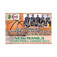 New Manila Basketball League 2017