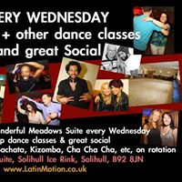 LatinMotion weekly Wednesdays SALSA at Blue Ice Solihull Rink