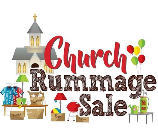 Image result for church rummage sale