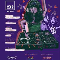 Stoli Vodka &amp Gaysi Presents 2x2 Bar Night The Summer-Chord