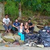Limpeza Ecolgica na Praia de Paranapu