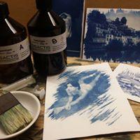Atelier &quotcest quoi ces photos bleues  Initiation au cyanotype&quot