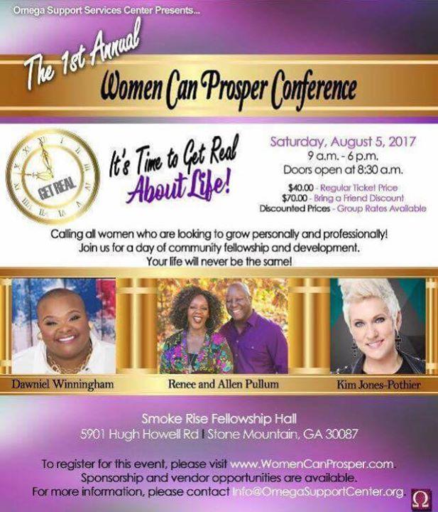 Women Can Prosper Conference 2017