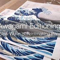 Awagami Washi and Print EventChine Colle with Beth Ganz