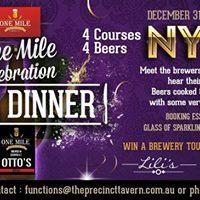 One Mile NYE Beer Dinner
