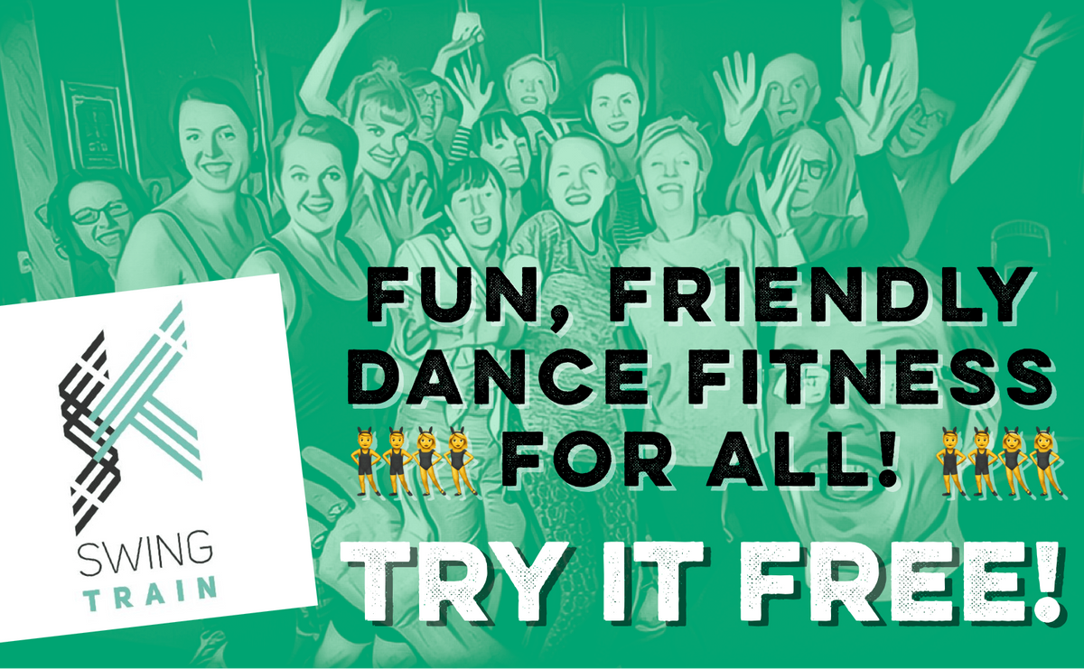 Fun Dance Fitness to Joyful Jazz - Try SwingTrain FREE
