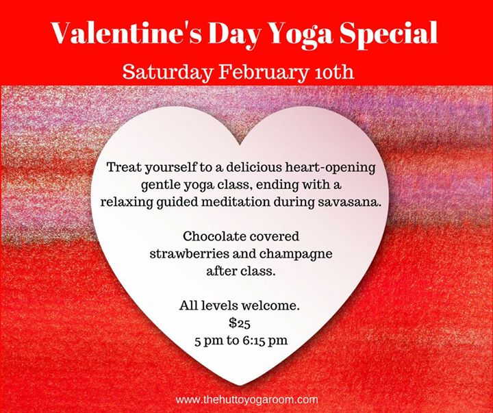Valentines Day Yoga Event At The Hutto Yoga Room Hutto