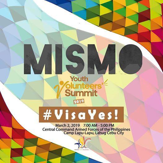 Mismo Youth Volunteers Summit 2019 Visayas