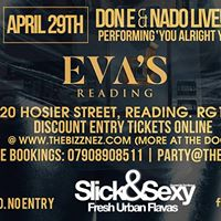 Slick&ampSexy Saturdays Bank Holiday Special Don E &amp Nado Live April 29