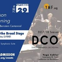 DCO Season Opening Concert Flow
