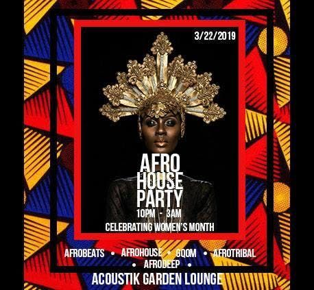 AFROHOUSE PARTY