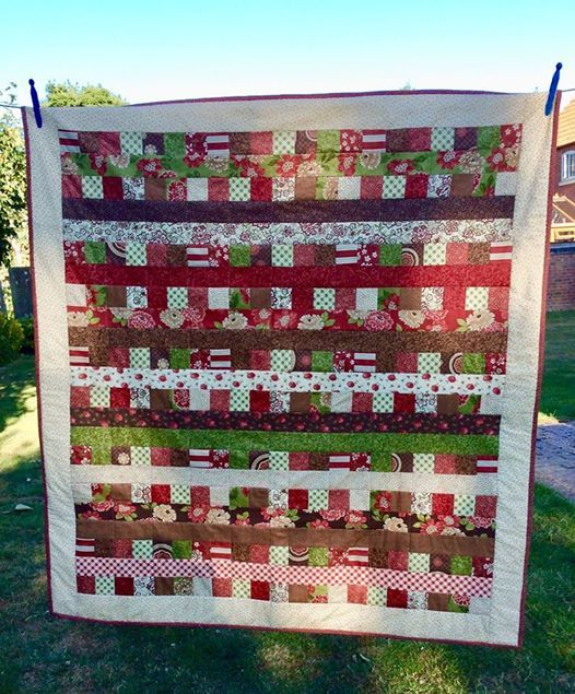 Sew a Jelly Roll quilt in a day with Louise - Sunday class