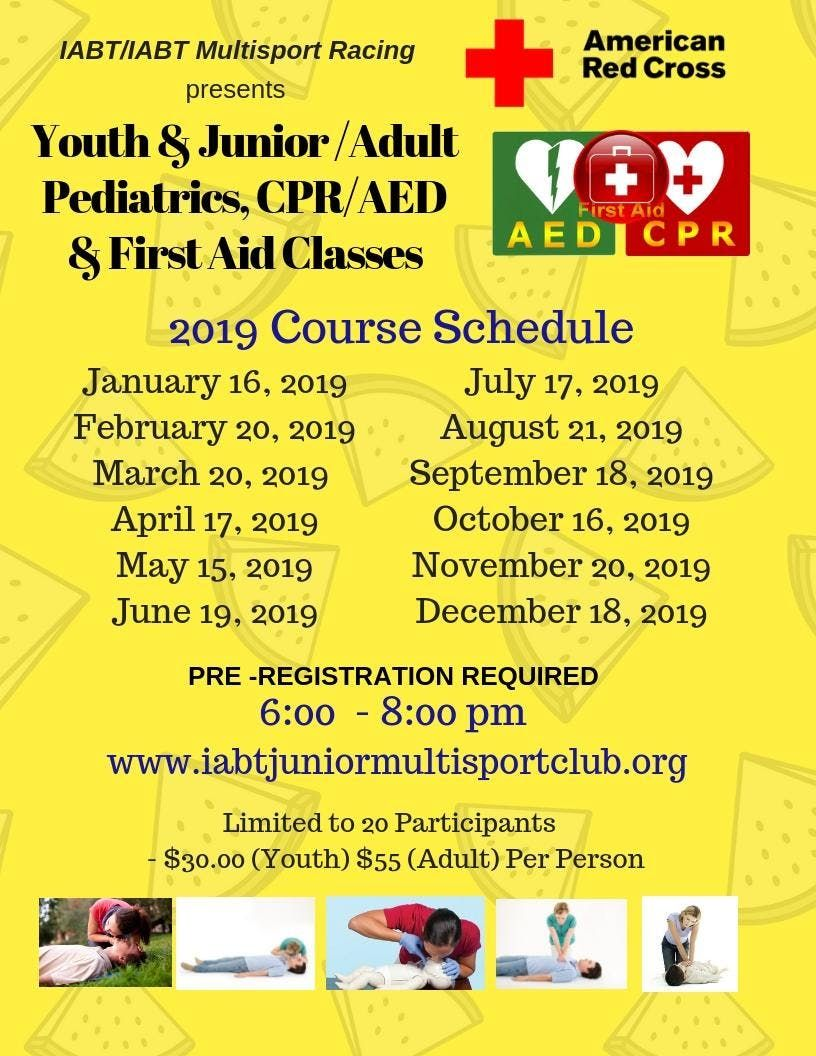 Adultyouth Junior Pediatric Cpraed 1st Aid Certification