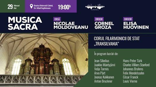 Musica sacra - Concert pentru cor i org