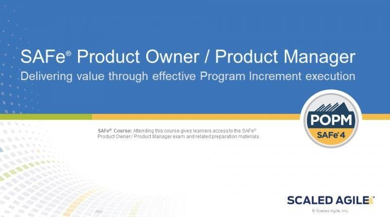 SAFe Product Owner Training