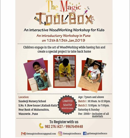 WoodWorking for Kids in Pune