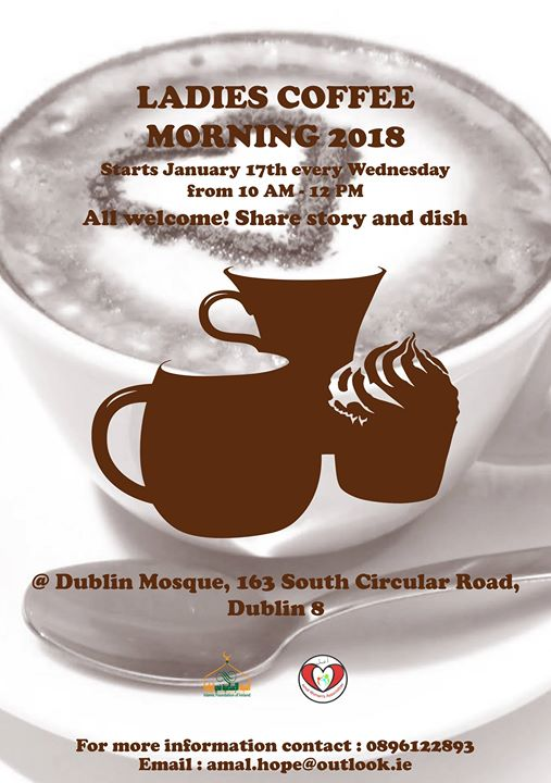 Ladies Coffee morning 2018