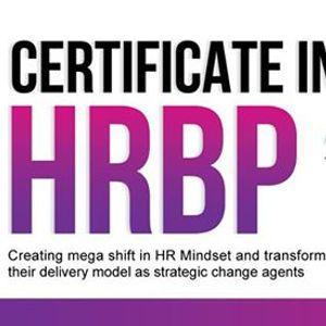 Certificate in HRBP