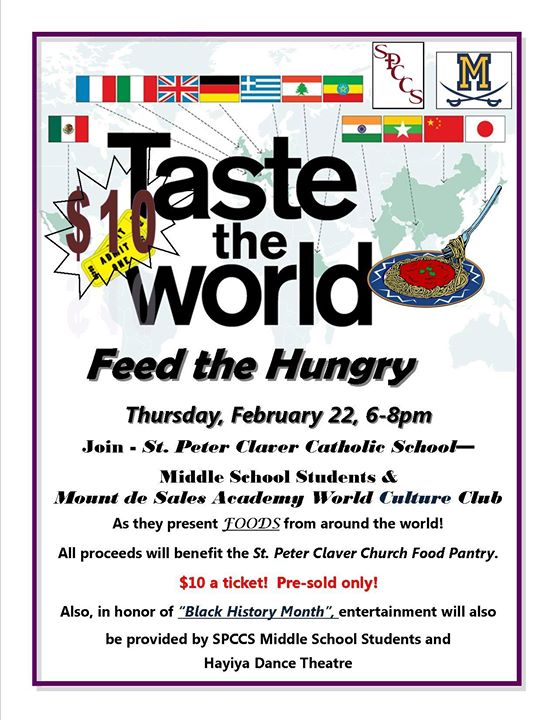 Taste the World Feed the Hungry