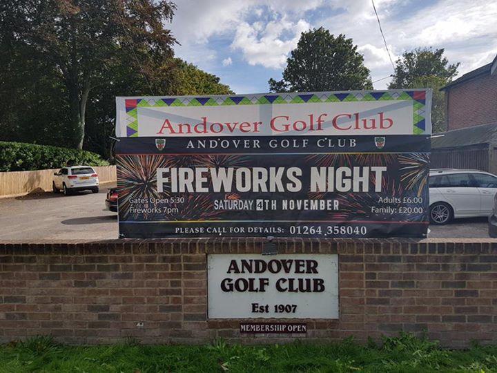 Andover Golf Club Fireworks