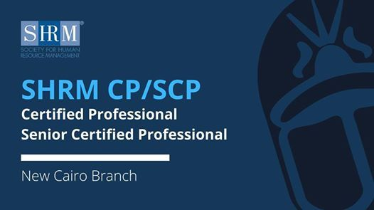 SHRM Certified Professional  Senior Certified Professional