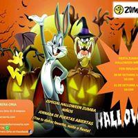 Fiesta Halloween Zumba nios