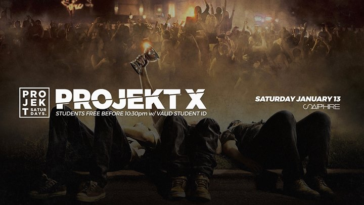 Projekt x college party at sapphire kelowna event details malvernweather Choice Image