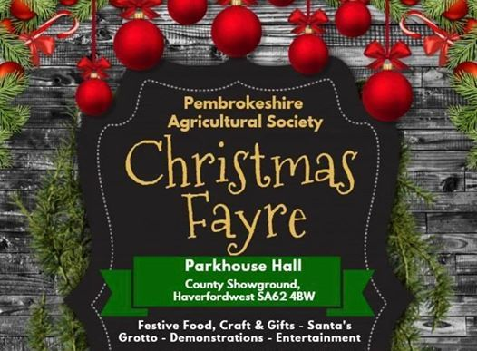 Pembrokeshire Agricultural Society Christmas Fayre