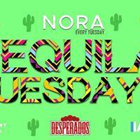 Tequila Tuesdays Nora 12 - powered by Desperados
