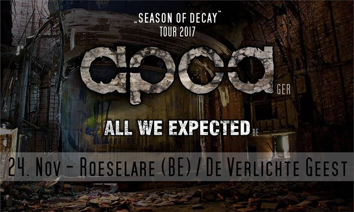 apoa all we expected at de verlichte geest roeselare roeselare