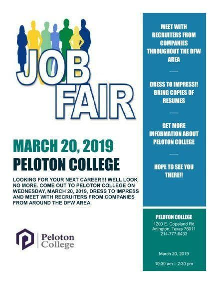 Peloton College 1st Annual Career Fair