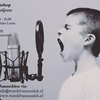 Kinderworkshop Liedjes Schrijven