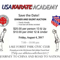 USAKarateAcademy is going to to China