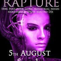 The Rapture - ebm goth industrial electro clubnight