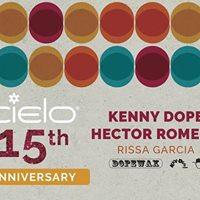 CIELO 15th Anniversary Kenny Dope Hector Romero &amp Rissa Garcia