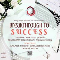 50% SOLD  YWiB BCIT Breakthrough to Success