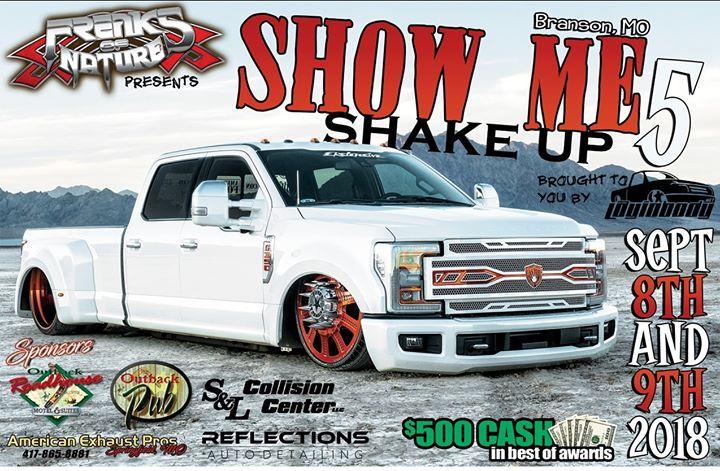 SHOW ME SHAKEUP Car Truck Bike Show At THE OUTBACK PUB Branson - Car show branson mo