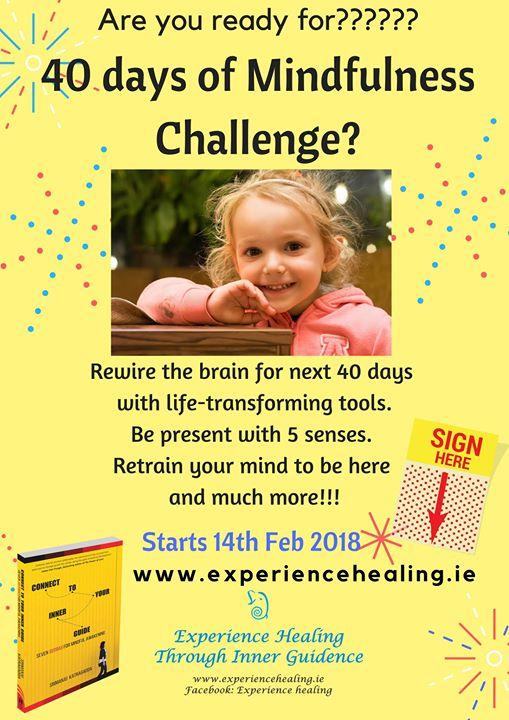 40 Days Mindfulness Meditation Challenge