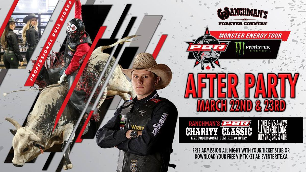 PBR Monster Energy Tour - After Party - March 22nd & 23rd 2019