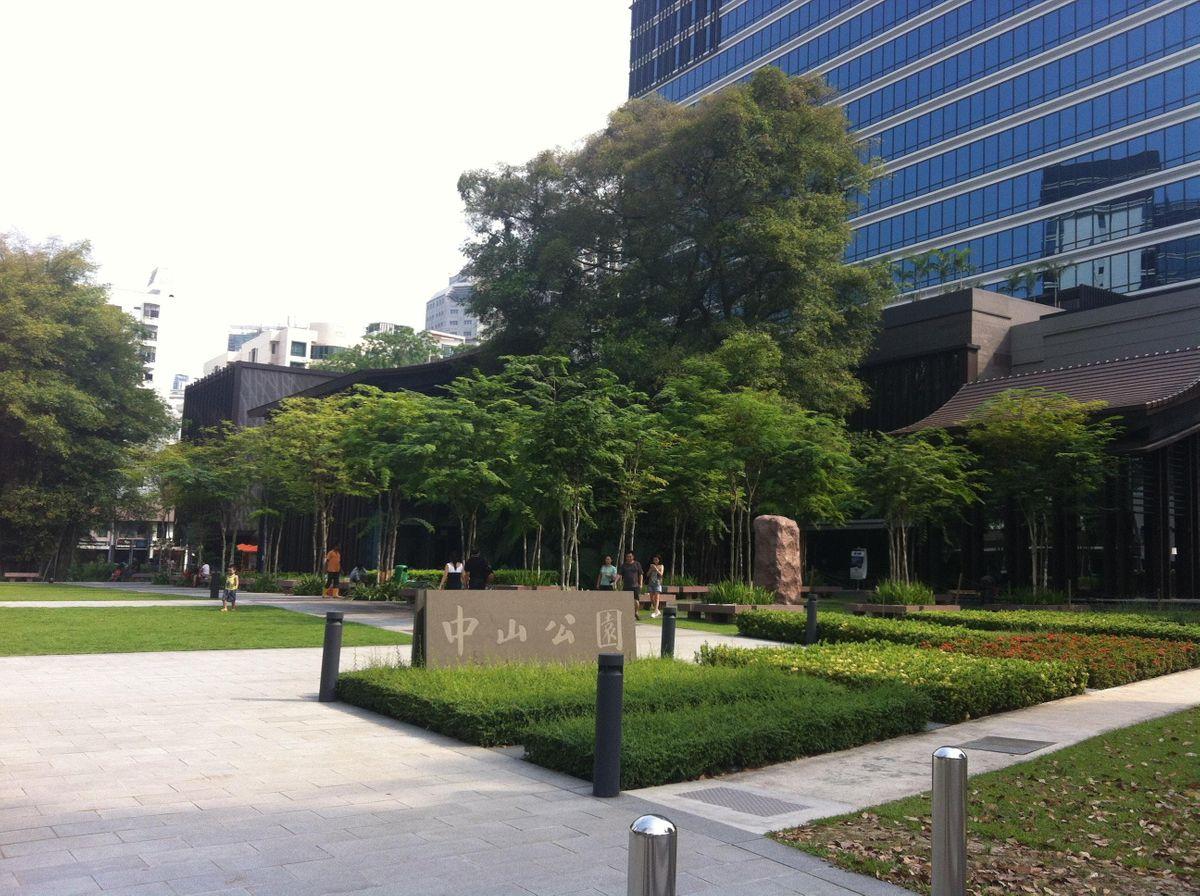 Yoga by Zhongshan Park (Open space next to Zhongshan Mall)