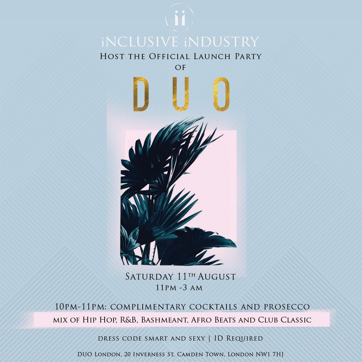 Inclusive Industry host the official launch party of DUO