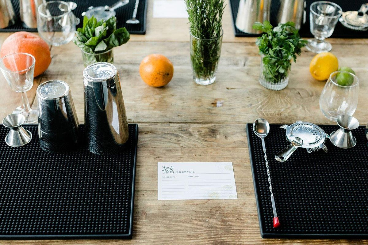 September FarmtoTable Cocktail Class At You Yours Distilling Co - Farm to table san diego