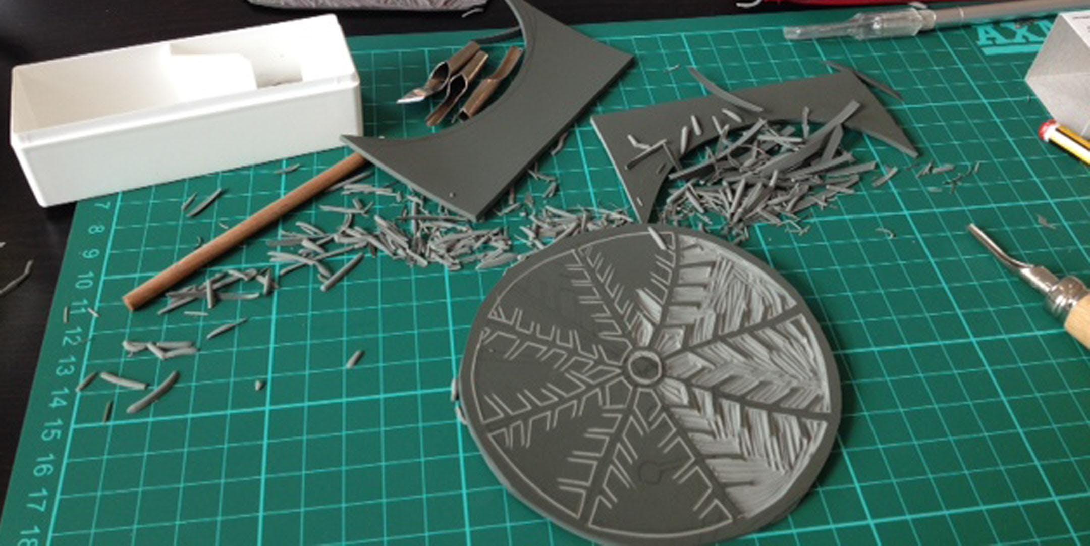 lino printing christmas cards at leeds print workshop leeds