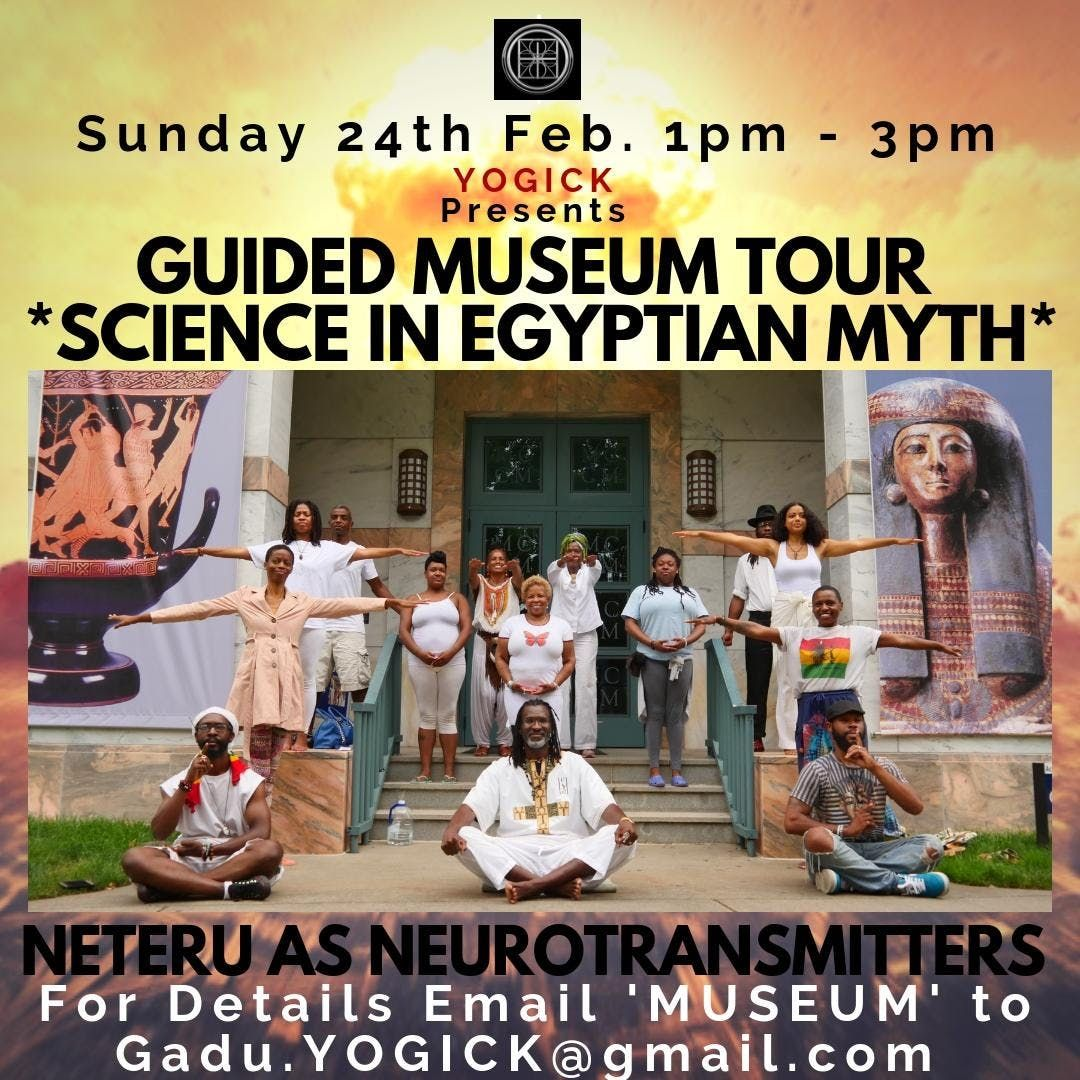 SCIENCE IN EGYPTIAN MYTH - GUIDED MUSEUM TOUR