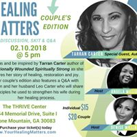 Healing Matters Couples Edition with Tarran Carter Author