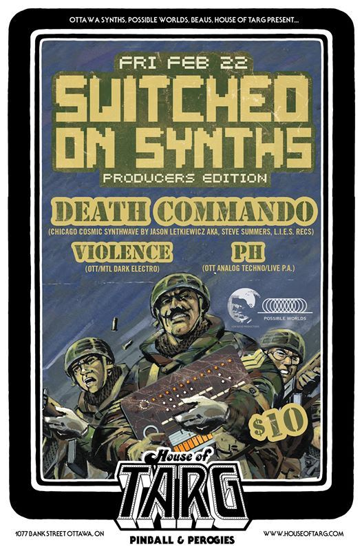 Switched on Synths Death Commando (Chicago)  Violence  pH