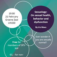 Lecture Sexuology on sexual health behavior and dysfunction