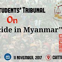 &quotSCLS Students Tribunal on Genocide in Myanmar&quot
