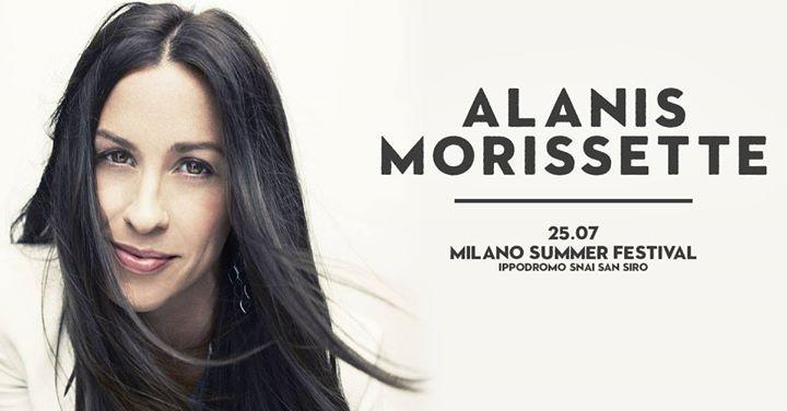 Alanis Morissette live a Milano  25 Luglio