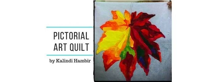 Pictorial Art Quilt by Kalindi Hambir